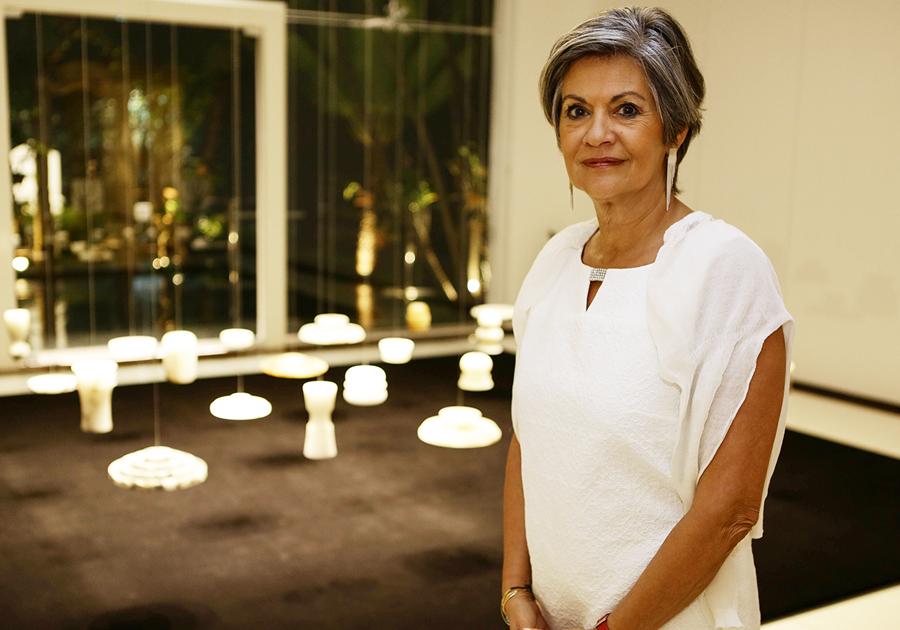 Maria-Carmen Perlingeiro expõe Luz de Pedra na Galeria Multiarte