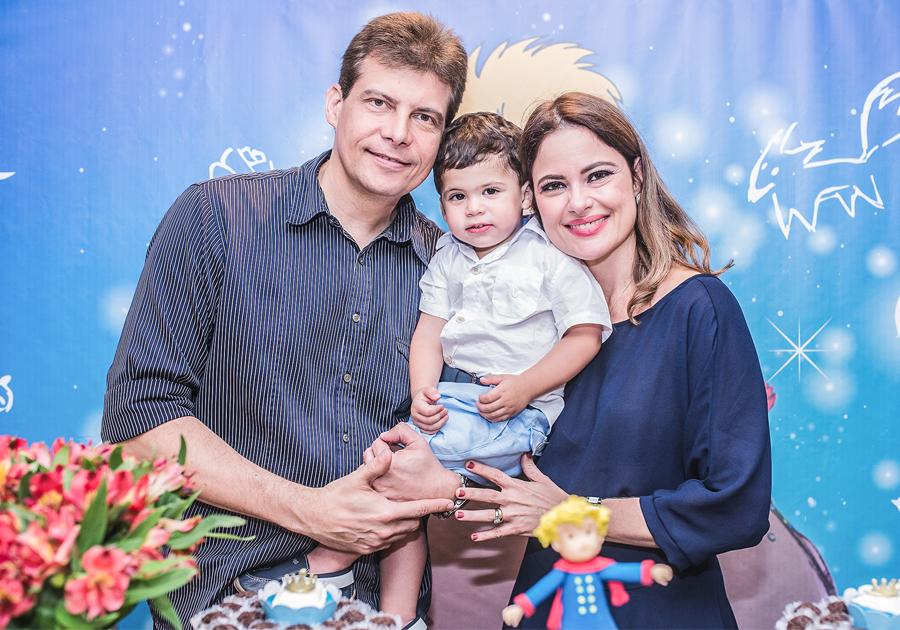 André e Rafaella Bezerra comemoram 2 anos do filho | Vem ver o tema da festa!