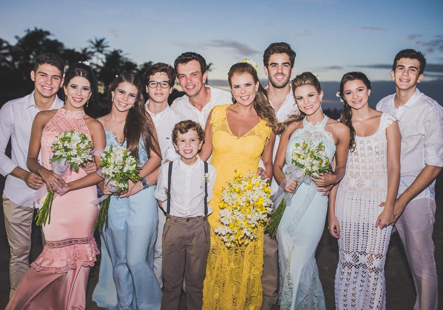 As bodas de prata (em clima sunset) de Alexandra e Fred Pinto | GALERIA registrou tudo!