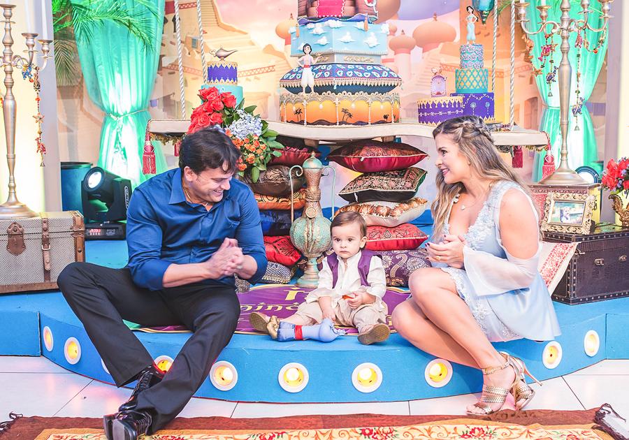 Ian Victor ganha festa mágica de Kamila Monteiro e Adriano Gomes Barbosa!