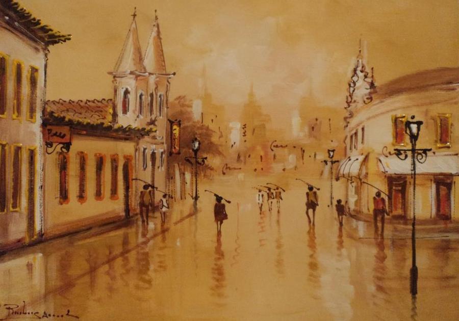 Galeria BenficArte traz a Fortaleza exposição impressionista de Rubens Amaral