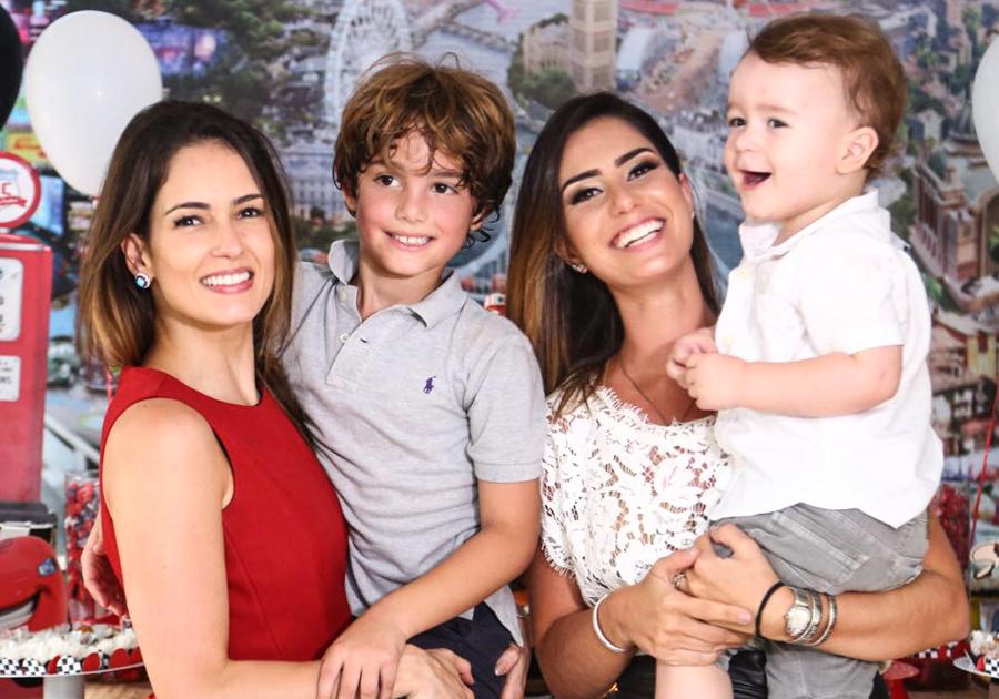 Ben, filho de Marília Queiroz, ganha festa surpresa de Nicole Pinheiro!