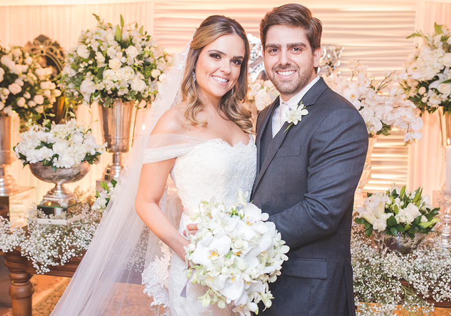 Casamento de Edgar Ximenes e Brenna Cartaxo | Confiras as belas fotos!
