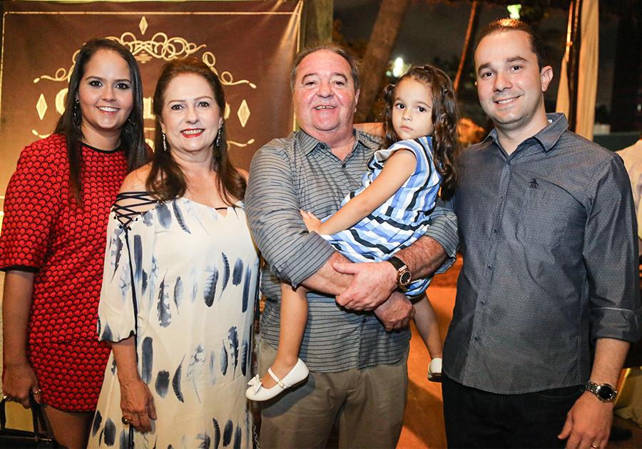 Chiquinho Aragão comemora seu aniversário no Iate Clube | O Galeria mostra tudo