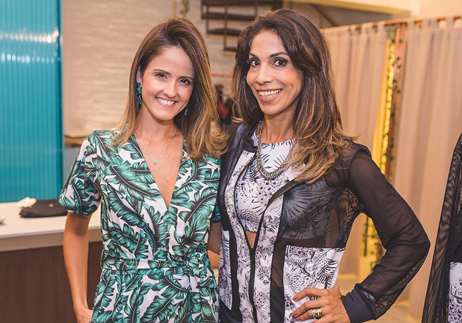 Natalie Pires e Synara Leal lançam nova coleção da Line Up Sportwear
