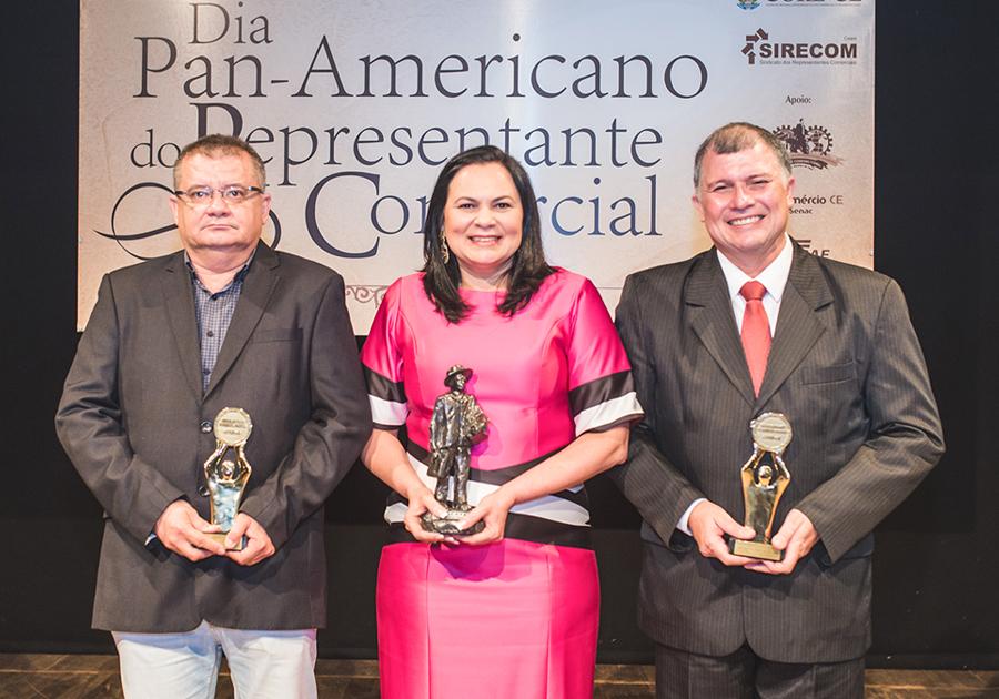 Noite de homenagens e comemoração ao Dia Pan-americano do Representante Comercial