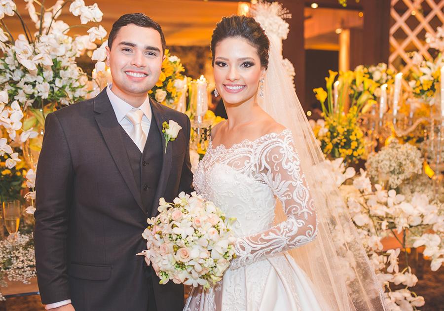 Gerardo Bastos Neto e Klicya Dantas | Os detalhes do belíssimo casamento!