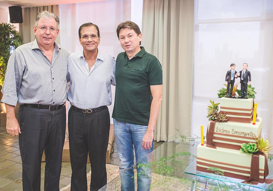 Ricardo Cavalcante e Edgar Gadelha ganham almoço comemorativo na FIEC
