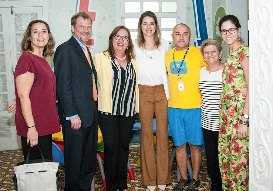 Pesquisadores de Harvard conhecem o Programa Mais Infância Ceará
