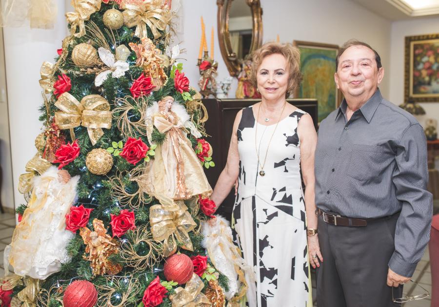 Um jantar marcante | Natal na casa de Germano e Solange Almeida