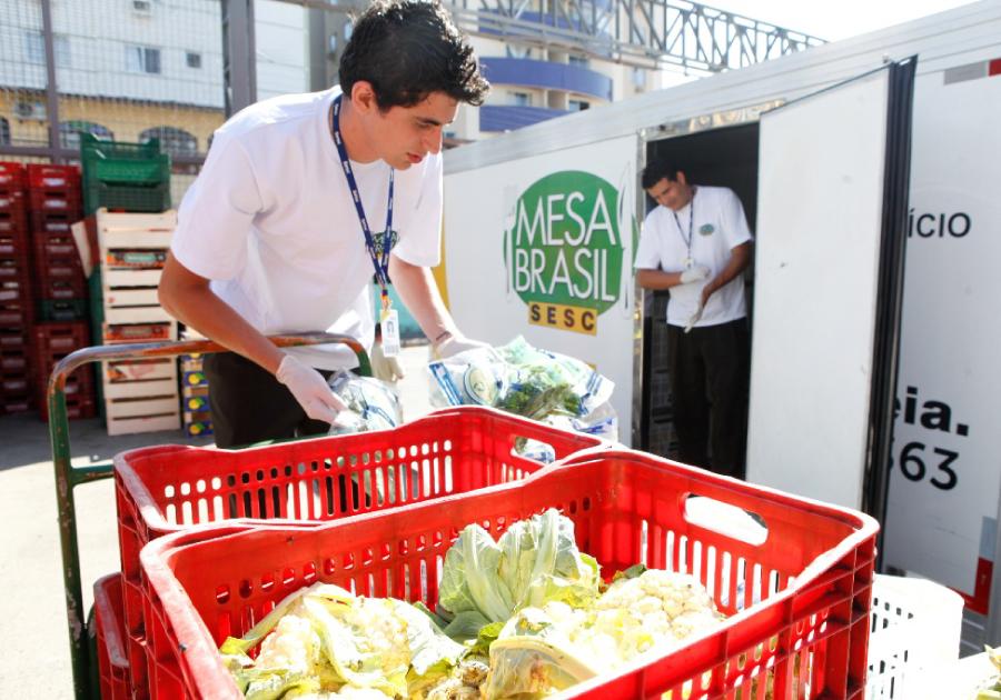 Uma parceria deliciosa e solidária | Mesa Brasil Sesc distribui mais amor neste Natal
