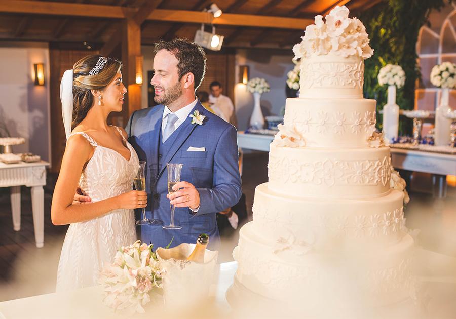 Tarde de emoção e beleza no casamento de Carolina Bezerra e Diego Trindade