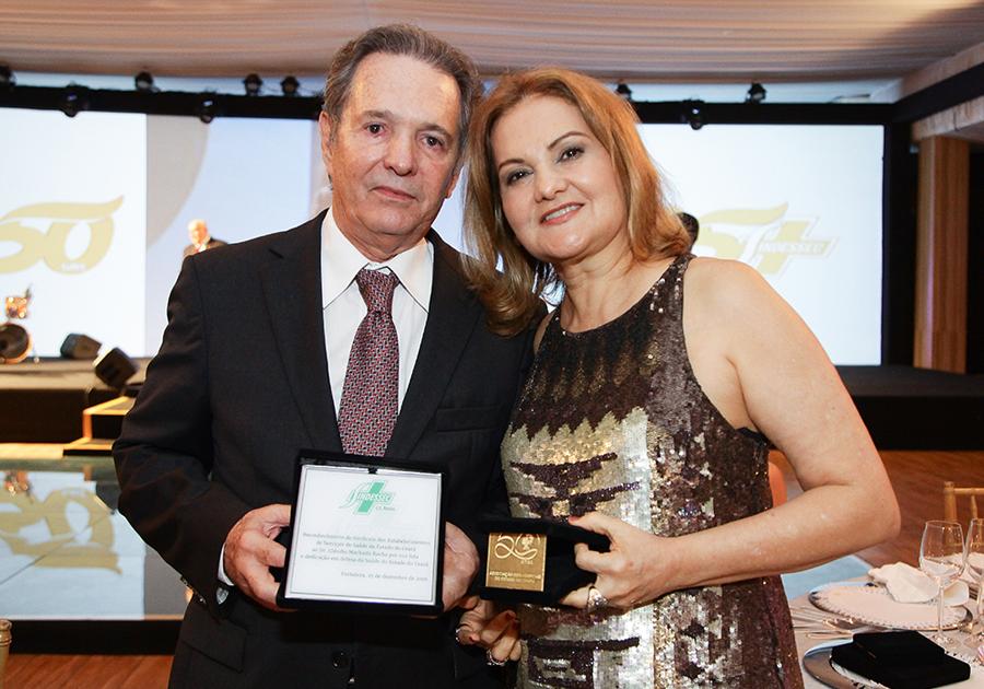 Meio século de cuidado | O jantar de comemoração da Associação dos Hospitais do Estado do Ceará