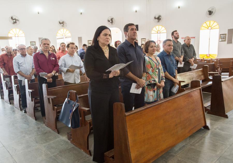 Fecomércio celebra o encerramento do ano com confraternização e Missa em Ação de Graças