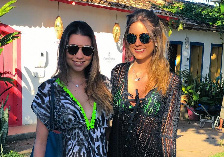 Bia, Lou e Dani | Elas escolheram Trancoso, na Bahia, pra curtir o verão!