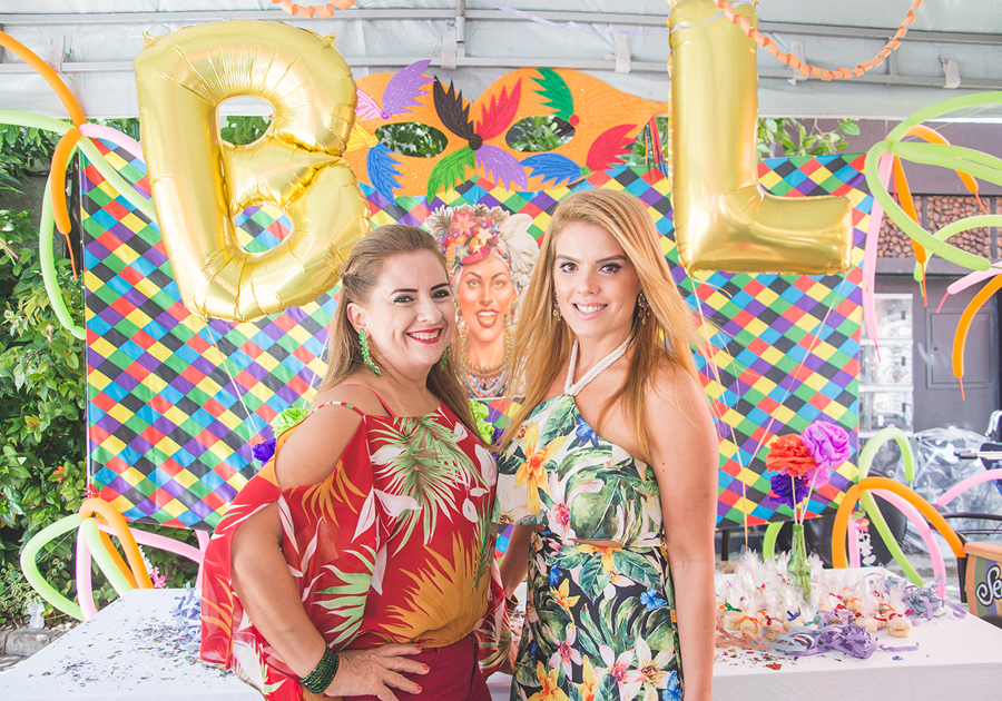 Beth Pinto e Letícia Studart agitaram o fim de semana com o CarnaBeLê!