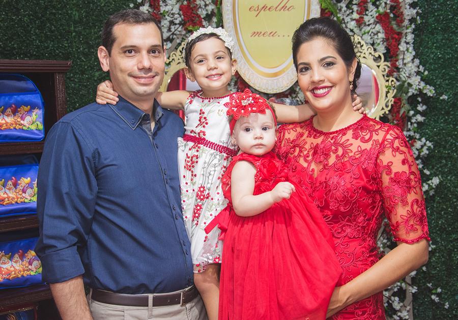 O conto de fadas de Bianca | Juliana e Eliseu Batista comemoram 1 aninho da filha!