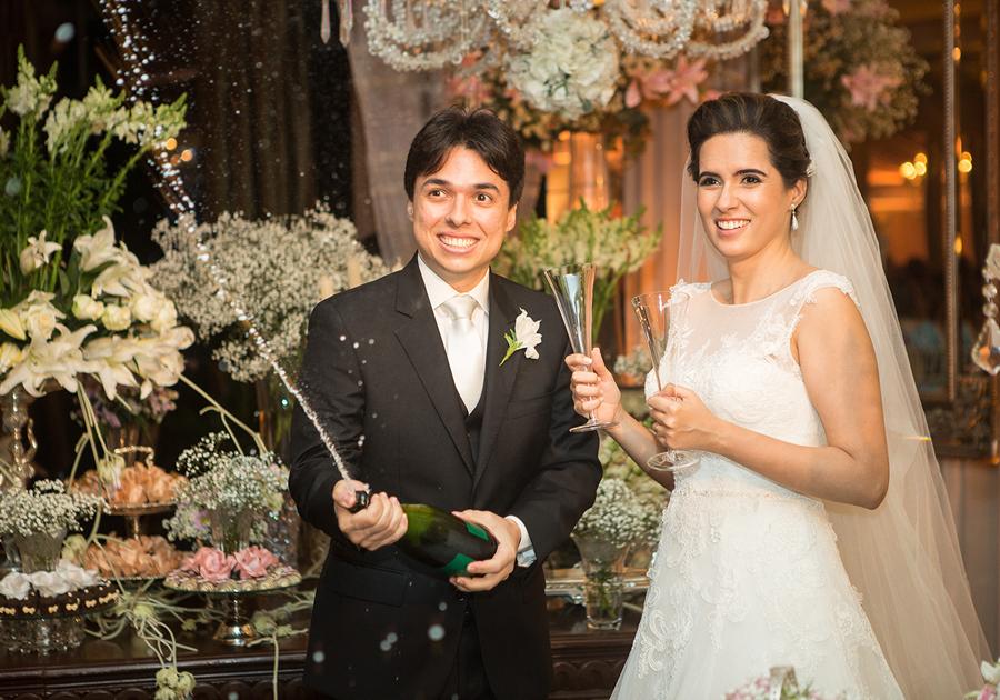 Amor que não se mede, mas se festeja | O casamento de Patrícia e Thiago