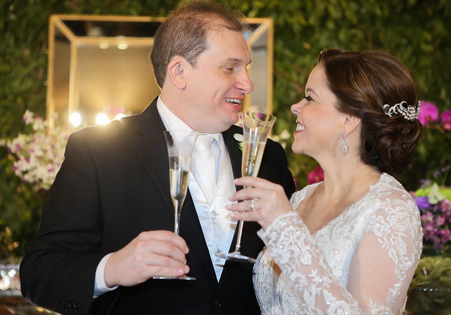 Momentos inesquecíveis marcaram o casório de Isabelle Borges e Luiz Claudio | Confira!