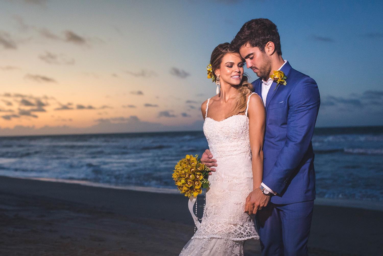 O casamento marcante de Mariana e Lucas na paradisíaca Flecheiras   Vem ver!