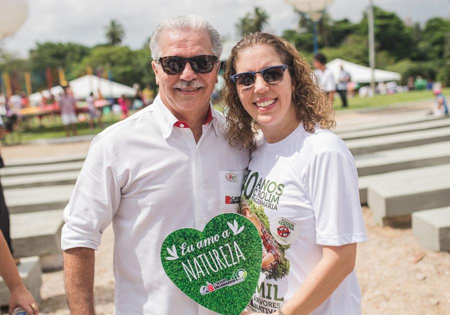 Semana verde | C. Rolim Engenharia articula programação sustentável no Parque do Cocó