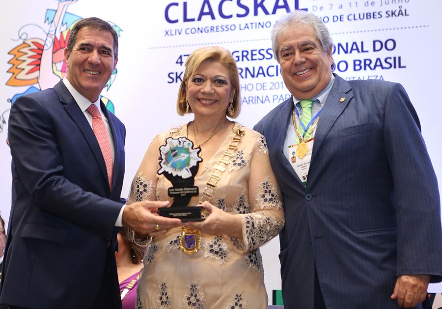 Luiz Gastão Bittencourt é o homenageado da vez pela Skål Internacional do Brasil!