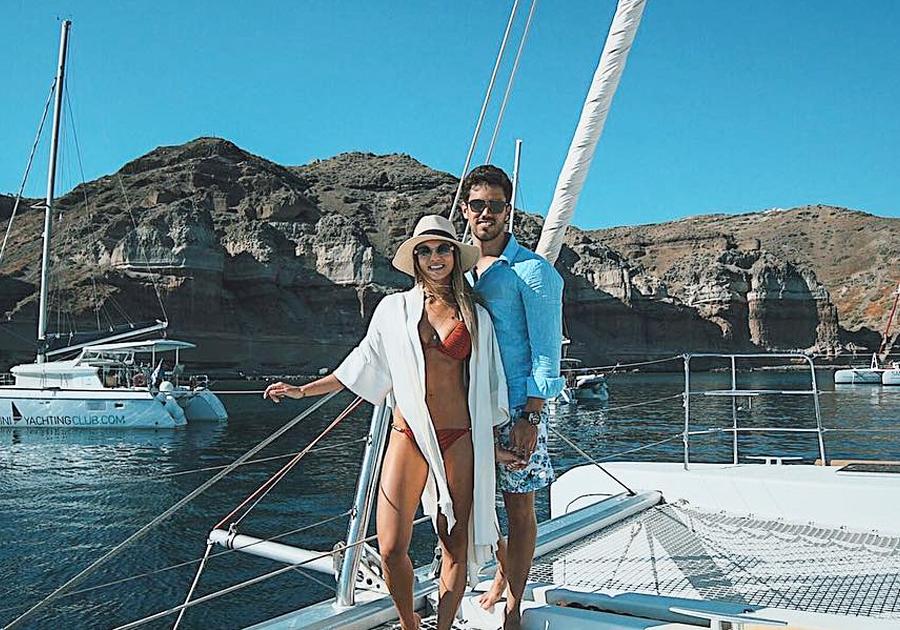 Mar azul, ilhas vulcânicas e muito amor | A lua de mel de Mariana e Lucas Ximenes!