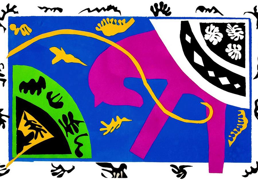 GALERIA Indica | Exposição reúne colagens do francês Henri Matisse em Fortaleza