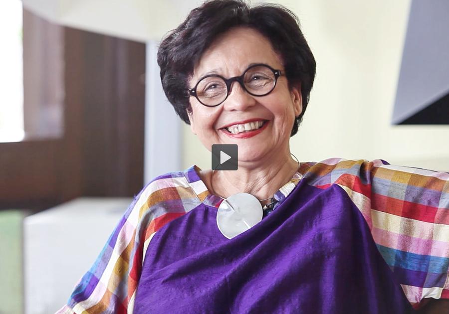 Dodora Guimarães abre o coração sobre a arte inconfundível de Sérvulo Esmeraldo!