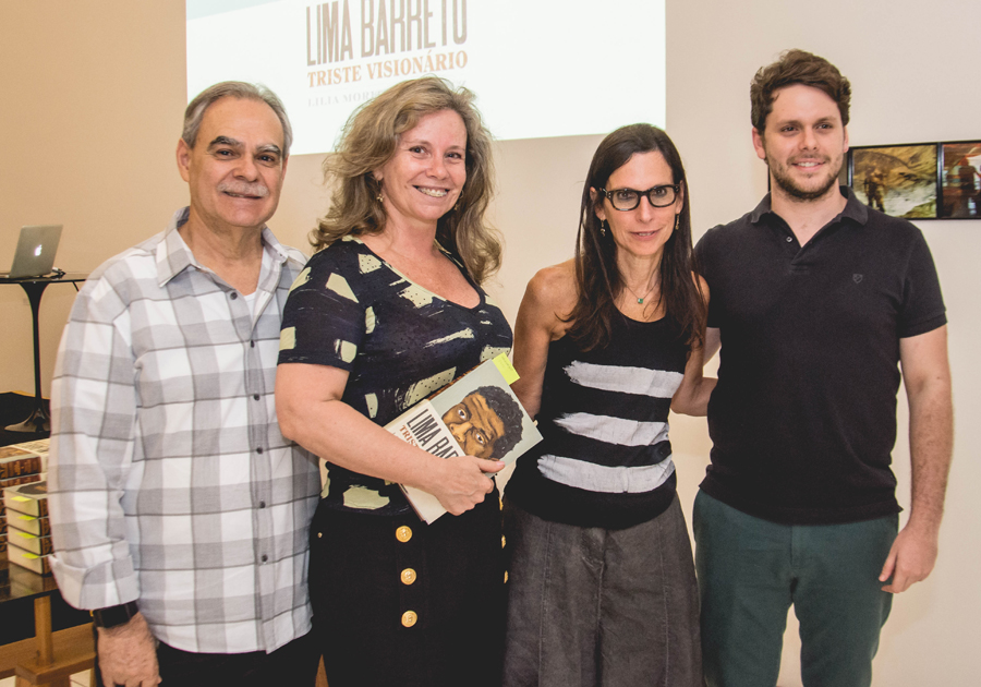 Galeria Multiarte recebe Lilia Schwarcz para lançamento de obra sobre Lima Barreto
