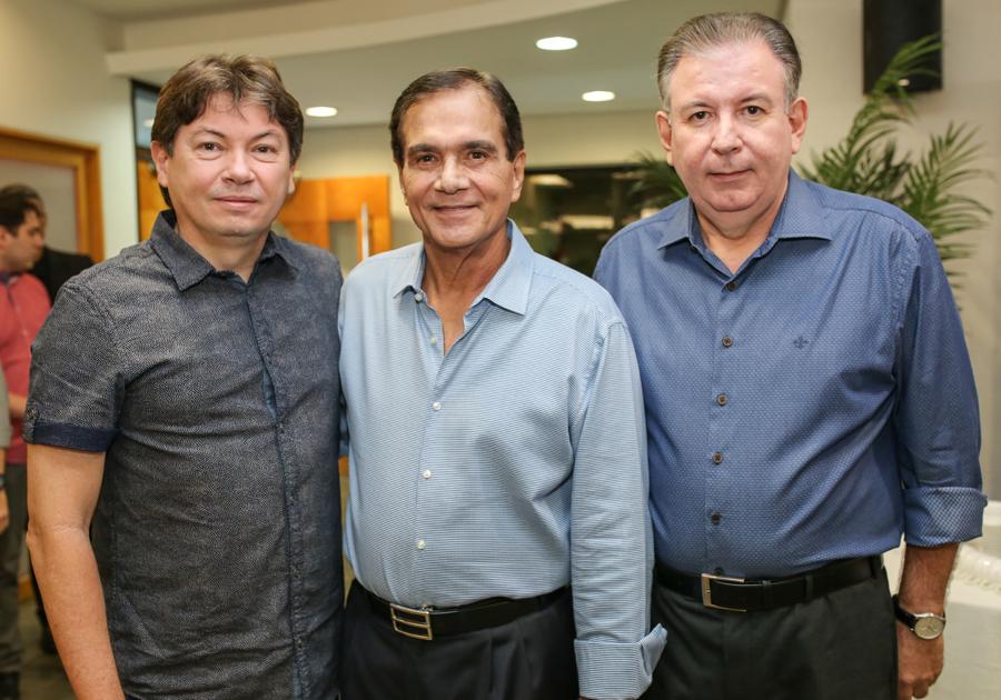 Beto Studart prepara aniversário surpresa para Ricardo Cavalcante e Edgar Gadelha