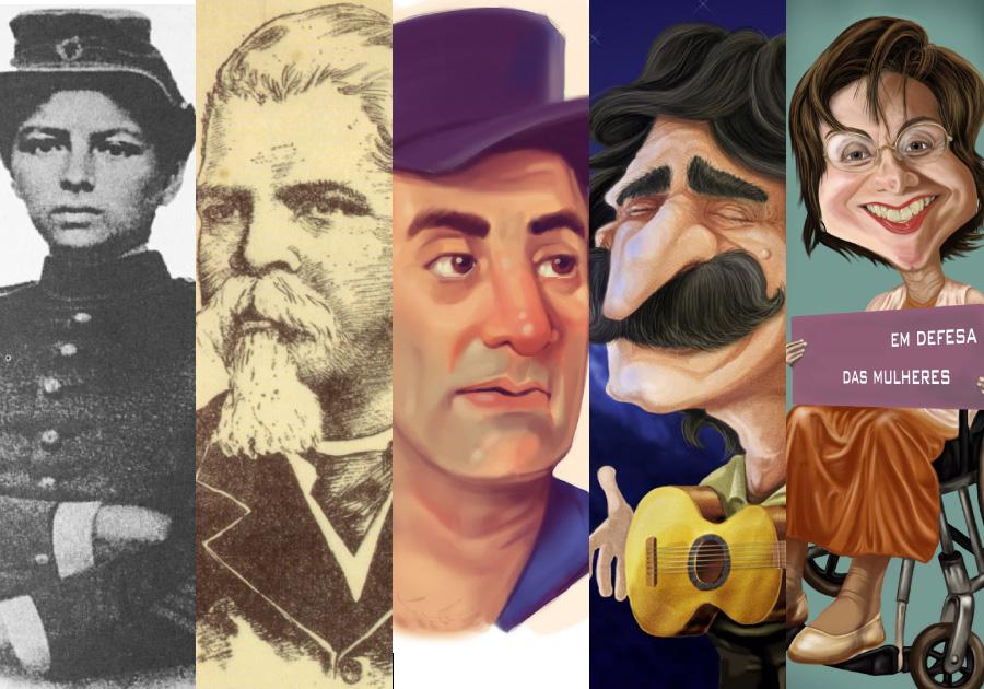 #TheList | Conheça os personagens que revolucionaram a história do Ceará