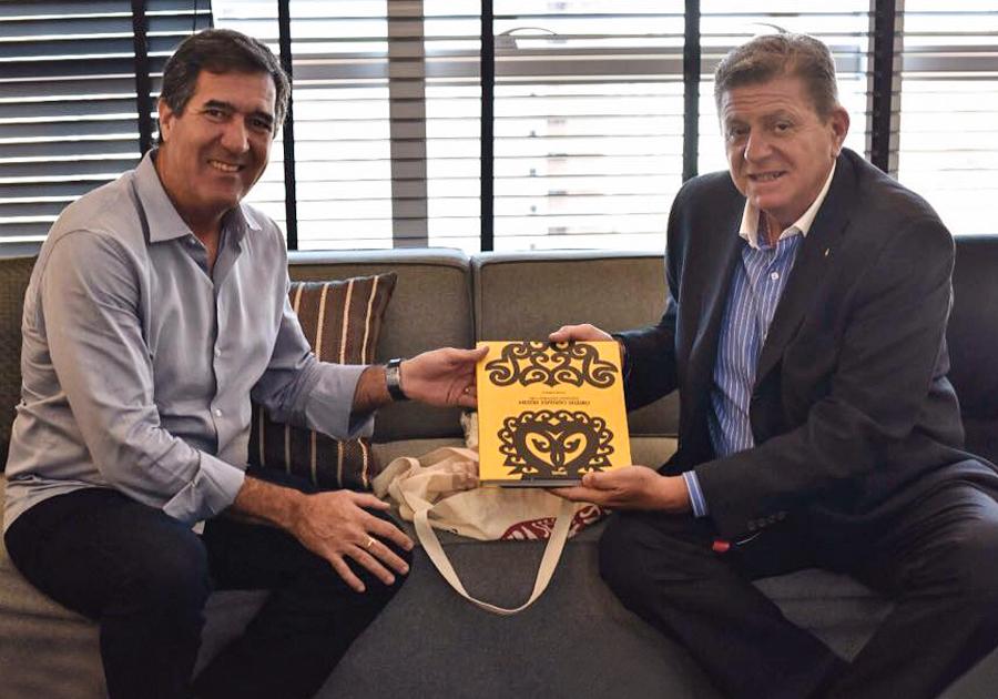 Investindo no turismo | Fecomércio CE recebe visita do Cônsul da Argentina