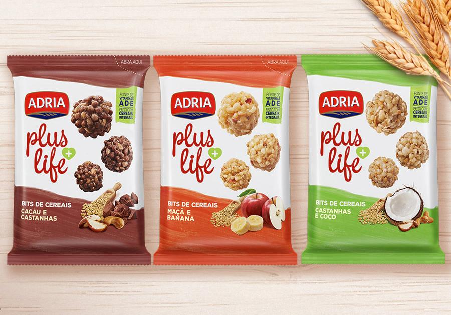 Adria Plus Life para comer a qualquer hora | Confira mais dicas de snacks saudáveis!