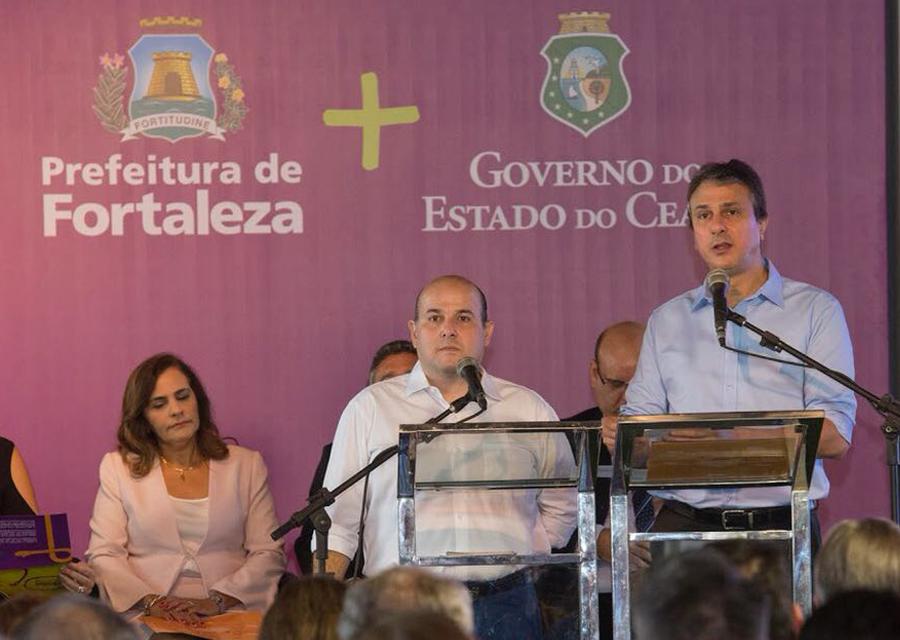 Prefeito Roberto Cláudio e governador Camilo Santana anunciam R$ 528,5 milhões para a Saúde