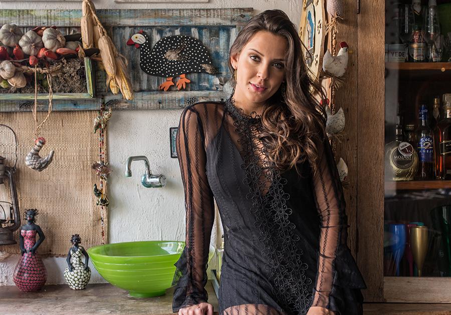 #OutakeGALERIA | Fernanda Levy em sintonia com a própria essência