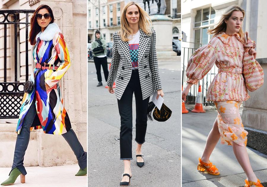 Nicole Pinheiro e mais fashionistas ousadas na Semana de Moda de Londres