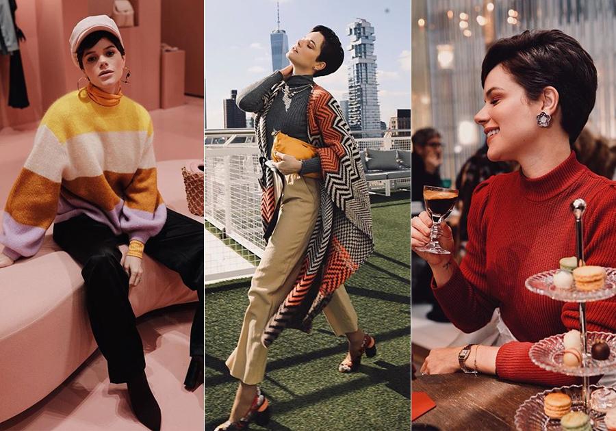 Os highlights da passagem de Paulinha Sampaio pela NY Fashion Week