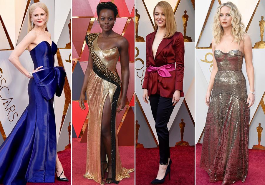 #TheList   Quem fez bonito e brilhou no red carpet do Oscar 2018