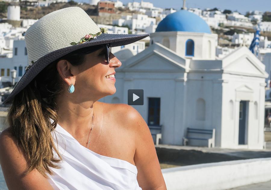 GALERIA desembarca na ilha grega de Mykonos | Confira
