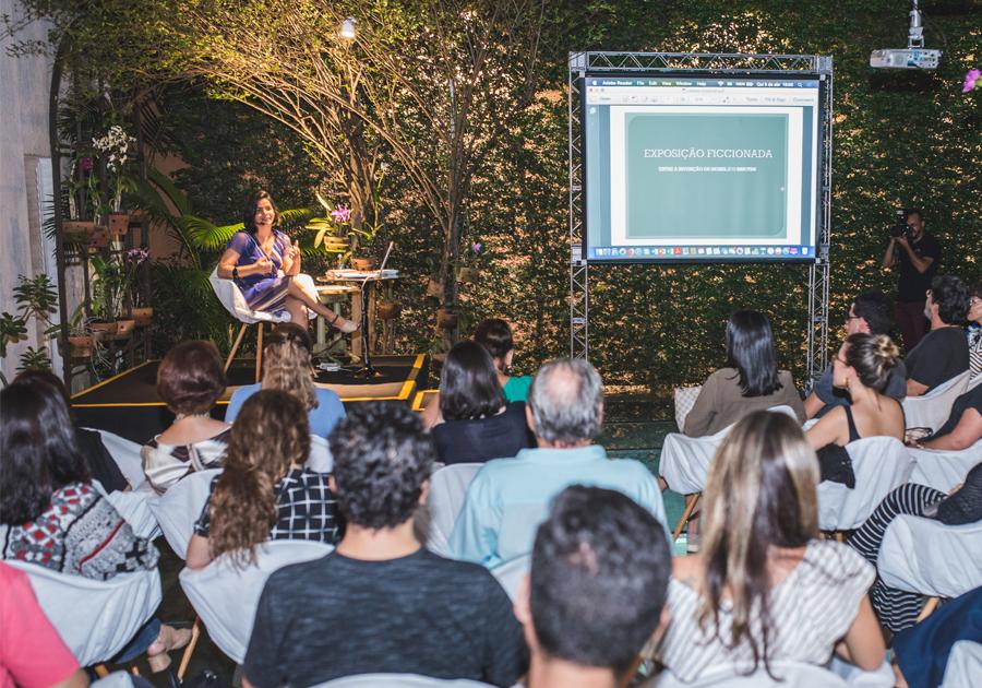 Carolina Vieira discute sobre os laços entre as artes visuais e a literatura na Multiarte