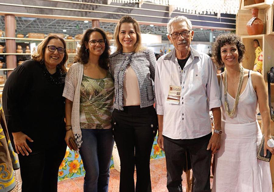 Ceará foi homenageado na 10ª edição do Salão de Artesanato, em Brasília