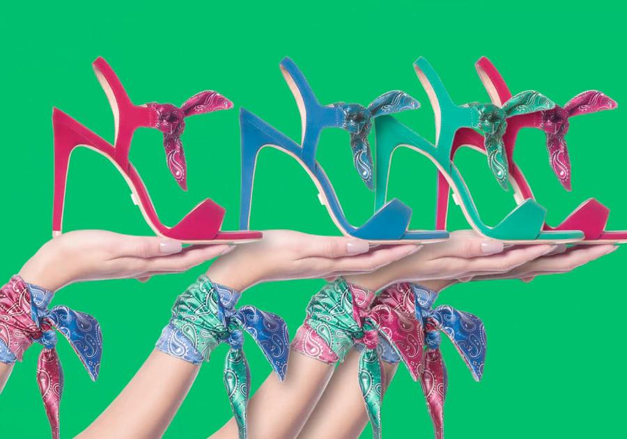 As sandálias desejo no desfile da Água de Coco, na #SPFW   Confira