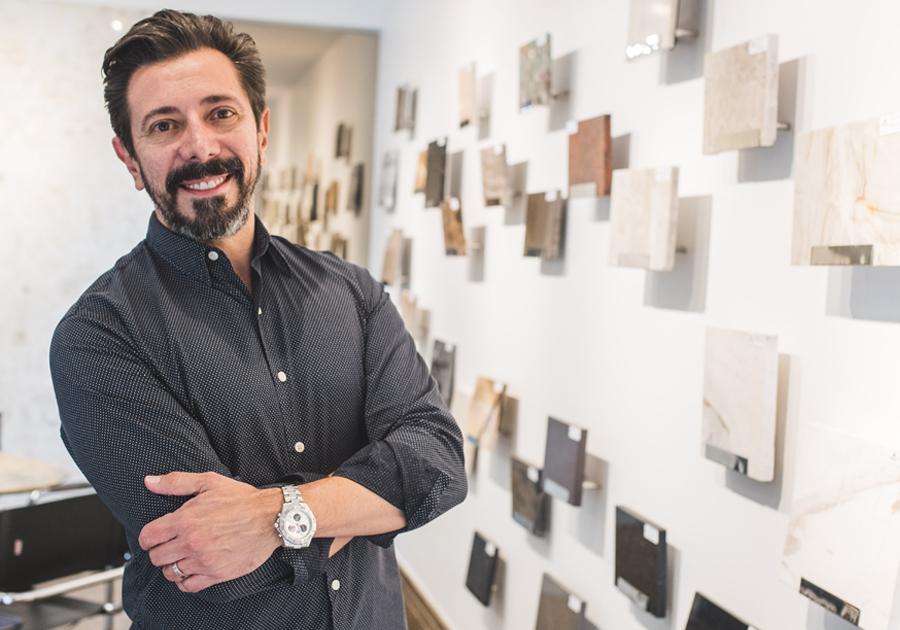 Arquiteto Carlos Otávio elege as pedras naturais mais requisitadas pelo público