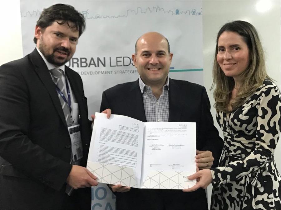Prefeito Roberto Cláudio assina adesão de Fortaleza à 2ª etapa do Programa de Baixo Carbono