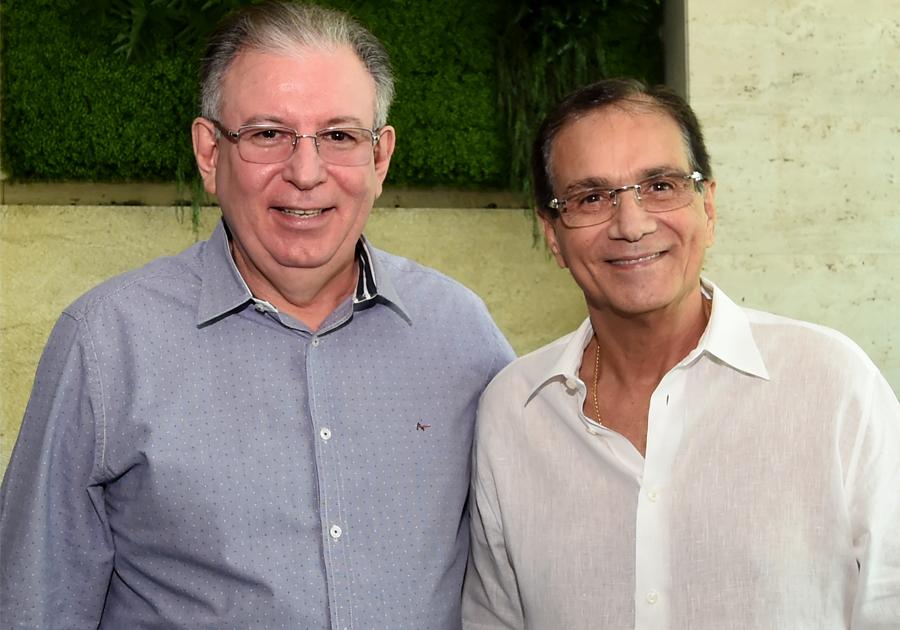 Encontro com Ricardo Cavalcante marca volta de Beto Studart à rotina de trabalhos na Fiec