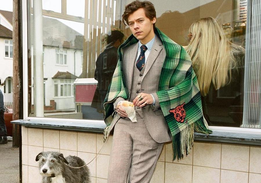 Harry Styles estrela nova campanha da Gucci em Londres