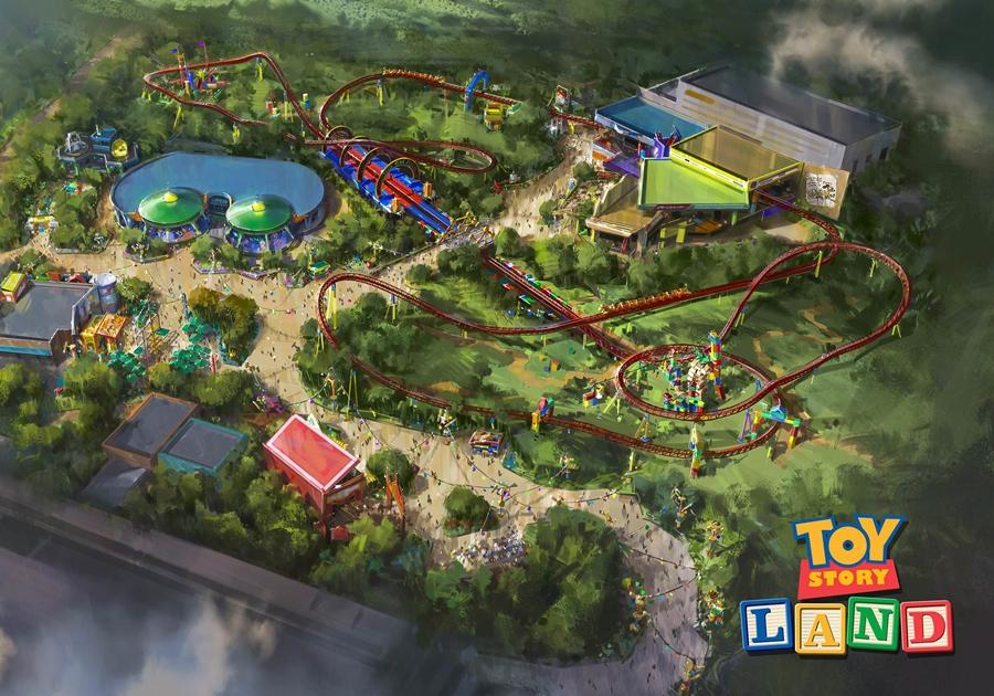 Toy Story Land é inaugurada neste sábado (30) na Disney de Orlando