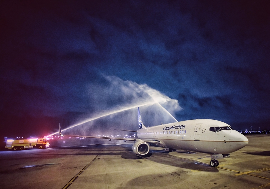 Copa Airlines inaugura primeiro voo de Fortaleza com destino ao Panamá