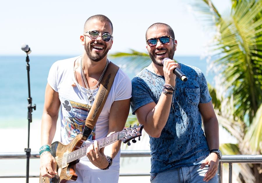 Rafa e Pipo Marques se apresentam quarta-feira (25) no Colosso e fazem ensaio para o Fortal 2018